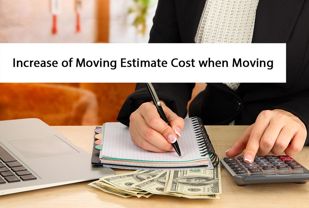 Change of Moving Quote Price when Moving Explained