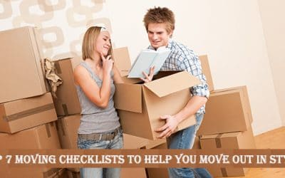 Top 7 Moving Checklists To Help You Move Out In Style